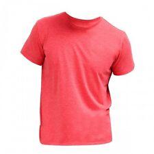 Figurbetonte Herren-T-Shirts aus Mischgewebe mit Rundhals keine Mehrstückpackung
