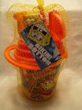 Universal Studios Spongebob Bikini Bottom Sand Beach Toys Bucket Patrick NEW