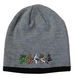 Grateful Dead Star Wars Dancing Bears Knit Beanie Winter Hat