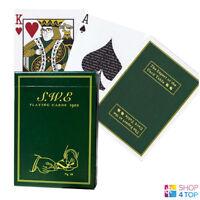 SWE GREEN ELLUSIONIST BICYCLE PLAYING CARDS DECK ERDNASE MAGIC TRICKS USPCC NEW