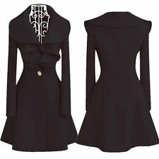 Womens Winter Long Warm Parka Coat Casual Ladies Trench Outwear Jacket Overcoat