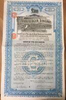 Vorarlberger Illwerke Aktiengesellschaft 500 Pfund Nr. 909 v. 1.2.1929