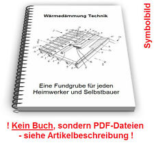 Wärmedämmung selbst bauen - Gebäude Heizung Dämmung Wärme Technik Patente