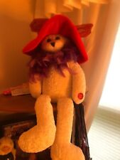 "RED HAT MUSICAL-BEAR-PLAYS ""GIRLSJUST WANT TO HAVE FUN"" PRE-OWNED"