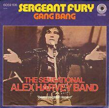 "7"" Sensational Alex Harvey Band – Sergeant Fury // Germany 1974"