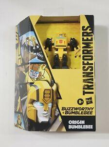 Transformers BUZZWORTHY ORIGIN BEE BUMBLEBEE Cybertronian Saucer MISB! In Hand!!