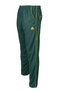 Green Cricket Trousers Top Quality Playing Kit Trouser/Pants Mens