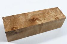 "Ripple Maple Wood Pen/Game Calls/Handle Turning Blank 6.7""x1.9""x1.9""#2684"
