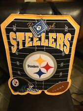 Pittsburgh Steelers Wall Door Decor Felt Hanging Sign