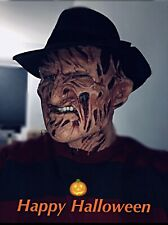 Custom Painted Freddy Kruger Mask In Soft Foam Latex Mask