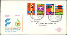 Netherlands 1972 Arts Festival, Flower Show FDC First Day Cover #C27459