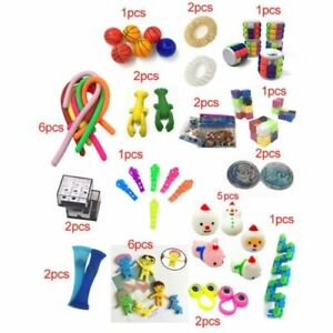 50PCS Pack Fidget Sensory Toy Set Stress Relief Toys Autism Anxiety Relief kids