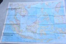 SOUTHEAST  ASIA  MAP  , 1968- 85 CM X 67 CM