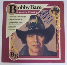 "BOBBY BARE Signed Autograph ""Country Classics"" Album Vinyl Record LP"