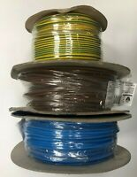 6491B LSF PVC SINGLE CABLES 4mm Brown Blue Green Yellow Earth 100Mts of Each