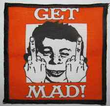 GET MAD  Alfred E Neuman - Printed Patch - Sew On - Vest, Bag, Backpack, Jacket!