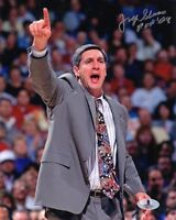 JERRY SLOAN SIGNED AUTOGRAPHED 8x10 PHOTO + HOF 09 UTAH JAZZ LEGEND BECKETT BAS