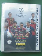 Champions League 13 14 Panini  Binder Sammelmappe Nordic Edition limited