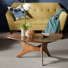"Ink + Ivy ""Mid century Modern Style"" Blaze Triangle Wood Coffee Table FREE SHIP"