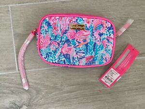 NWT Lilly Pullitzer Gillie Phone Wristlet Treasure Trove Accessories Small Multi