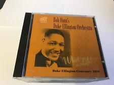 Bob Hunt's Duke Ellington Orchestra - What A Life CD Lake Recs [SIGNED]