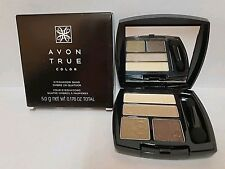 Avon True Color Multi-Finish Eyeshadow Quad ~Gilded Metallics~ New in Box