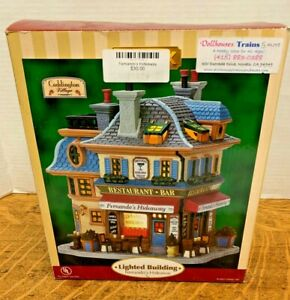 LEMAX  Fernando's Hideaway75502Lighted Building  2007  FREE SHIPPING