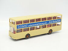 Wiking 1/87 HO - Bus Autobús MAN 2 pisos