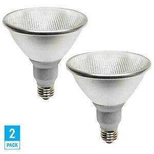 2 Pack LED PAR38 17 Watt =90W Medium E26 Base Dimmable Flood 3000K Soft White