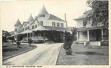 c1920 Printed Postcard; N.P. Sanitarium, Brainerd MN Crow Wing County Unposted