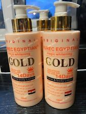 1x Pure Egyptian Gold Magic Lotion - Purec - 14 days Result - Face & Body Lotion