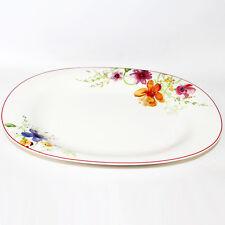 Villeroy & Boch Mariefleur Basic 34cm Servierplatte Platte Speiseplatte oval