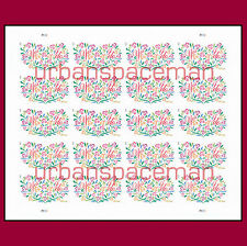 4765a Yes I Do 66c Wedding Imperf Pane of 20 from Press Sheet No Die Cuts
