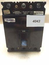 Square D Circuit Breaker FAL36015  #4043