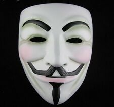 V vendetta costume masque guy fawkes anonymous halloweenn fête robe fantaisie cospla