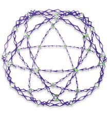 NEW Original Classic Hoberman Mini Universe Sphere Expanding Ball Opens to 30cm
