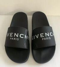 Givenchy Women's Rubber Slides Black Size 41 US 10