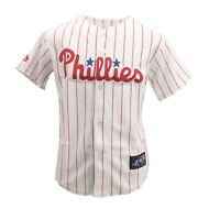 Philadelphia Phillies MLB Majestic Kids Youth Size Cliff Lee Jersey New Tags