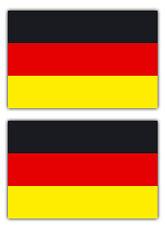 2x Aufkleber Sticker Deutschland BRD Flagge Fahne für Auto Motorrad etc. 5cm