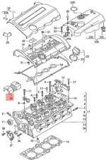 Genuine Volkswagen Oil Deflector NOS Audi A4 Avant S4 A6 S6 quattro 058103555C