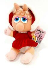1988 McDonald's Happy Meal Baby Miss Piggy Muppet Babies Plush Stuffed Animal