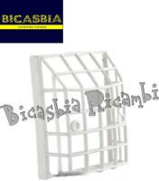7591 - GRIGLIA PARASASSI BIANCA IN PLASTICA FANALE FARO POSTERIORE VESPA 50 PK S