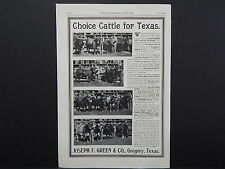 The Breeder's Gazette, Nov. 28, 1906, One Advertising Page, Double Sided S2#13