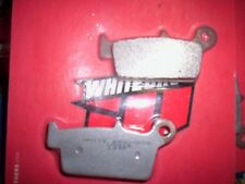 sintered rear motorcycle brake pads