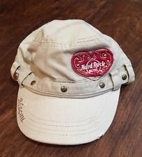 HARD ROCK HOTEL MACAU  BASEBALL CAP One Size Tan NWT