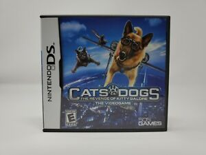 Cats & Dogs: The Revenge of Kitty Galore - The Videogame (Nintendo DS, 2010) CIB
