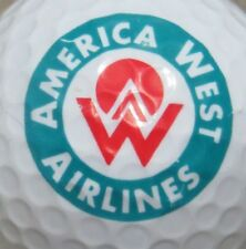 AMERICA WEST  AIRLINES LOGO GOLF BALL