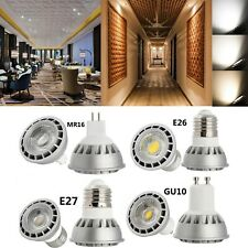 Dimmable COB LED -Y Spot Light Bulbs 15W GU10 MR16 E26 E27  Lamp Ultra Bright