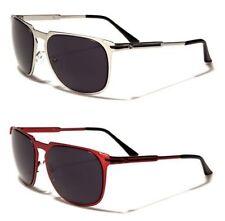 Gradient Lens Metal & Plastic Rectangular Sunglasses for Men