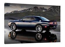 2016 Dodge Challenger SRT 30x20 Inch Canvas Art - Framed Picture Print